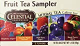 Celestial Seasoning Fruit Tea Sampler 18 bags (Two Boxes)