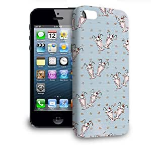 Phone Case For Apple iPhone 5 - Cherry Sundaes Blue Back Premium