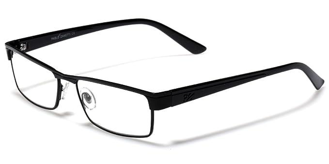 Amazon.com: Reading Glasses - Rectangle Frame Fashion Designer ...