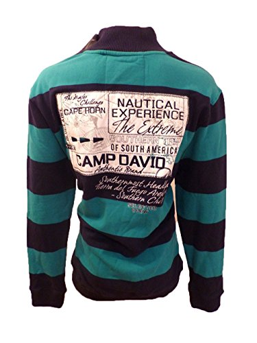 CAMP DAVID CAPE HORN IV CD SWEAT TROYER OCEAN GREEN XL