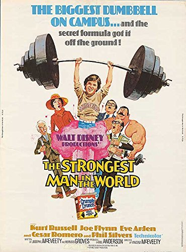 Strongest Man in the World - Authentic Original 30