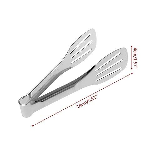 Eliky - Pinzas de Cocina de Acero Inoxidable para Ensalada y ...