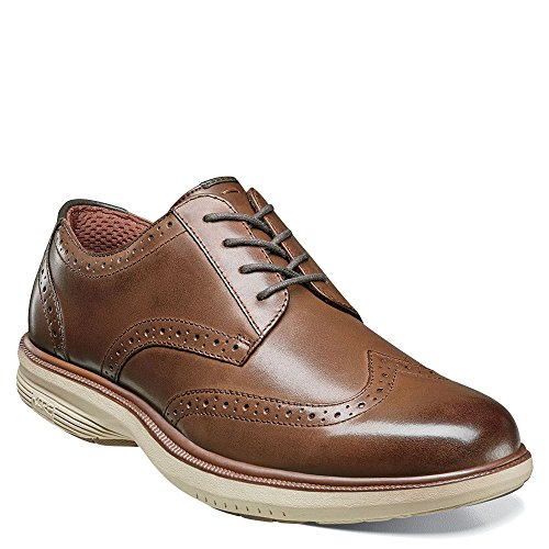 Nunn Bush Mens Maclin St. Punta Dellala Oxford Marrone Multi