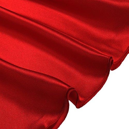 Cabreao Satin Nightgowns Babydoll Nighties Sexy Sling V ...