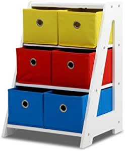 Artiss Toy Box Rack Kids Storage Bins Multi-Colour