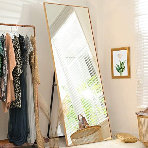 LifeFair Full Length Gold Mirror 65″x22″