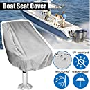 Fine Essort Boat Seat Cover Outdoor Waterproof Polyester Folding Pedestal Pontoon Captain Boat Bench Chair Seat Cover For Helm Bucket Fixed Back Seat Spiritservingveterans Wood Chair Design Ideas Spiritservingveteransorg