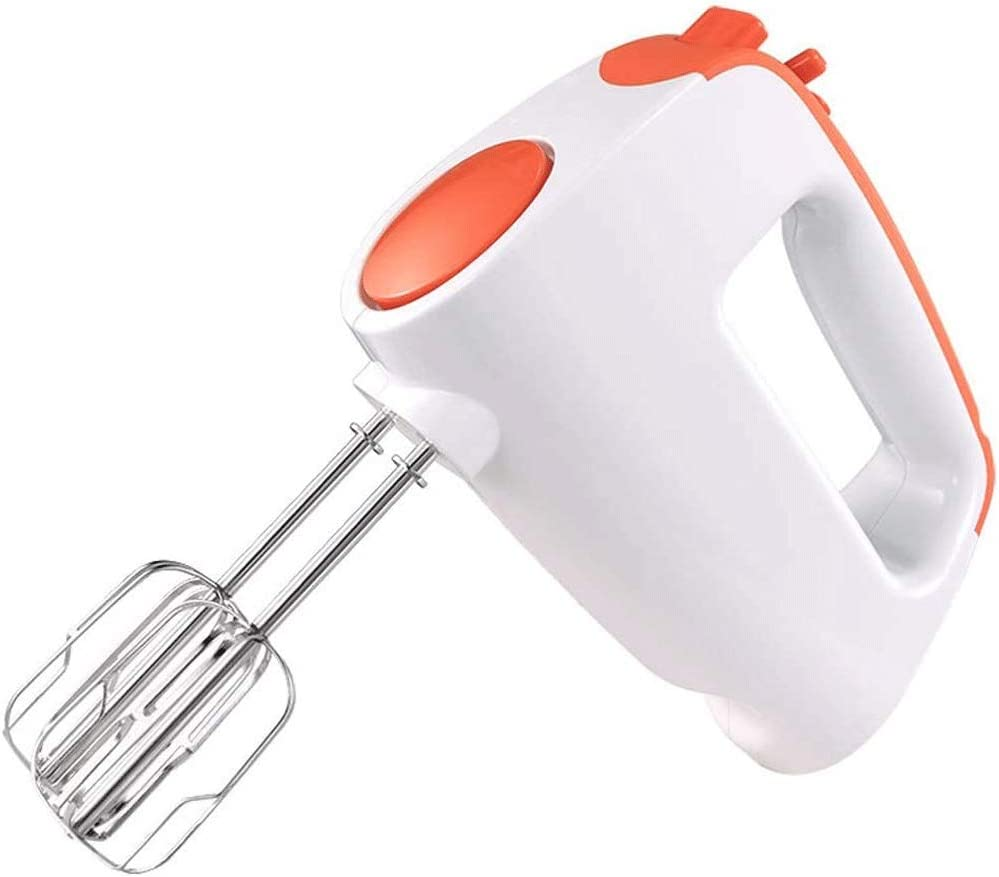 Pliuyb Automatic Eggbeater - Compact 5-Speed Digital Hand Mixer Electric for WhippingCakes, Dough, Batters with 4 Stirrer, Easy Whisk