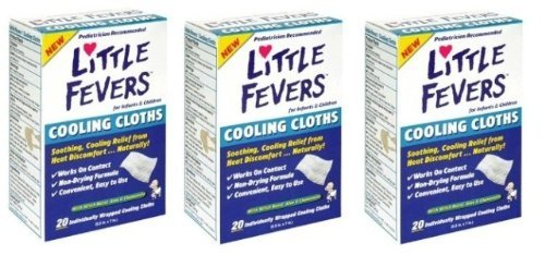 little fevers cooling cloths - 2