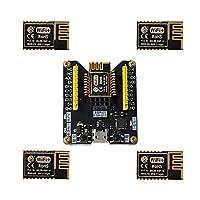 ESP8285 Test Board+ 5pcs ESP-M2 Wireless Serial WiFi Module Compatible with ESP8266/FCC/CE Certification