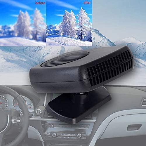 12V Car Heater Mini Electric Fan Heated Defrost /& Defog Windshield Window Glass