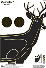 Champion Visicolor Deer Target, 10-pack