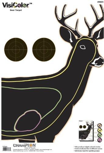 - Champion Visicolor Deer Target, 10-pack