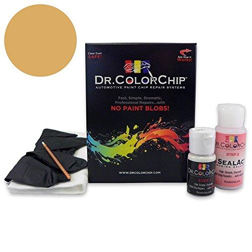 Price comparison product image Dr. ColorChip Jaguar All Models Automobile Paint - Sovereign Gold Metallic 341 / GDF - Basic Kit