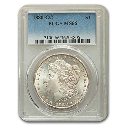 1880 CC Morgan Dollar MS-66 PCGS Dollar MS-66 PCGS