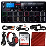 Akai Professional MPX16 SD Sample Recorder and Player + 32GB + Headphones + Premium Accessory Bundle