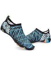 Water Shoes Barefoot Quick Dry Aqua Shoes for Swim Walking Yoga Lake Beach Boating