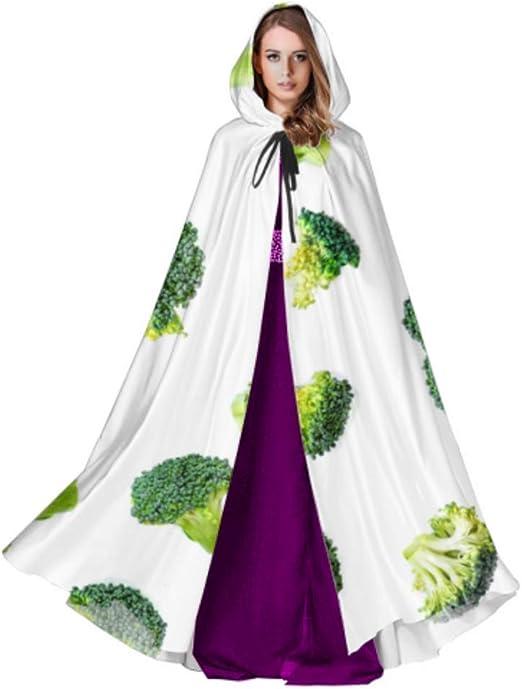 JINCAII Verde Esmeralda brócoli Capa Fresca Capa para Mujer Capa ...