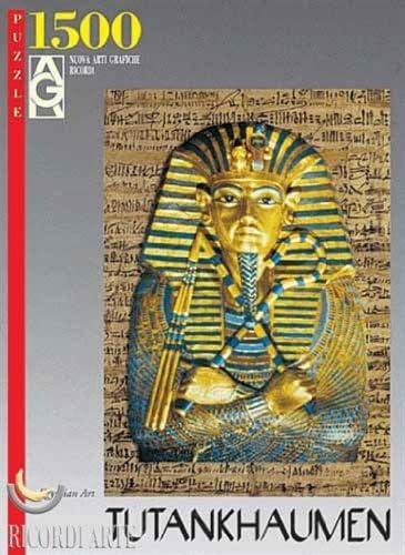 Editions Ricordi 2901N14456G - De Oro Arte Egipcio TUTANKHAMON Puzzle 1500 Piezas del Rompecabezas: Amazon.es: Juguetes y juegos