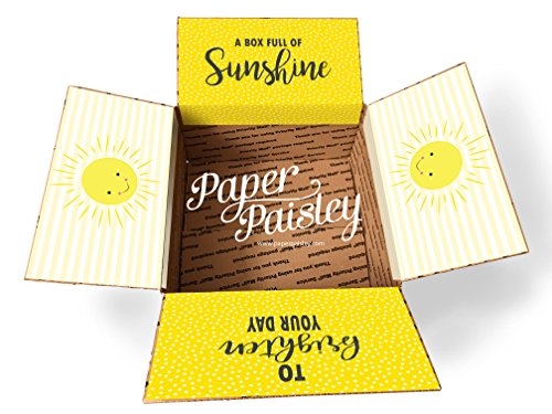 Box of Sunshine Care Package Sticker Kit ()