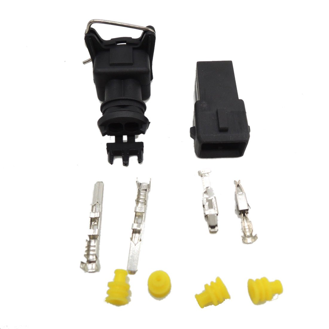 5 set EV1 Fuel Injector Plug Car Waterproof 2 Pin way Electrical Wire Connector Plug automobile Connectors kaifa