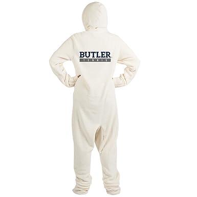 1aa8aa1e06 Amazon.com: CafePress - Butler Bulldogs Tennis - Novelty Footed Pajamas,  Funny Adult One-Piece PJ Sleepwear: Clothing