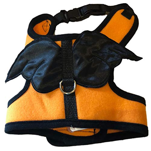 Skeleton Fairy Costume - Eclectic Blackbird Dog Costume Harness, Small