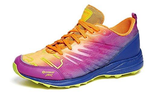 Icebug Womens Anima4 RB9X Traction Running Shoe Marigold/Grape leeRG8gfA