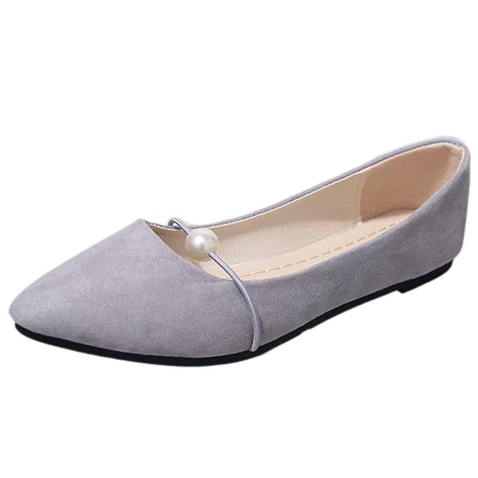 YR-R Zapatos Planos Puntiagudos Mocasines Femeninos De Tacón Bajo Puntiagudos Zapatos De Bota Con Tacón Zapatos De Mujer Con Sandalias De Paseo,Grey-41: ...