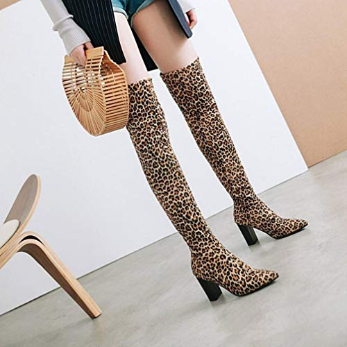 Upxiang Femme Bottes Pour Marron Upxiang Bottes arfx4waq