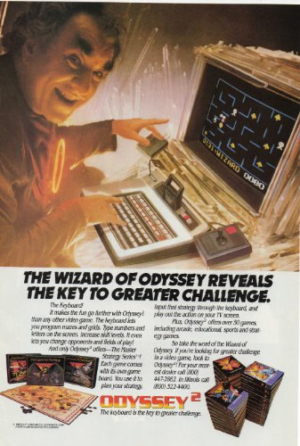 Retro Magazine Advertisement - 1982 Odyssey Keyboard Vintage Retro Magazine Advertising Vintage Ads
