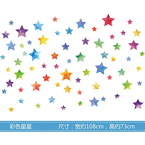 BOLLH Wall Decal Dots | Easy Peel & Stick + Safe on Walls Paint | Round Circle Art Glitter Sayings Sticker Large Paper Sheet Set