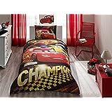 Disney Car's Champion Boy's Twin Duvet/Quilt Cover Set Single / Twin Size Kids Bedding