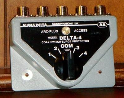 DELTA-4B 4-Position, SO-239, 500Mhz