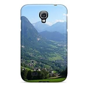 For Galaxy S4 Hard Phone Case Cover(liechtenstein Travel)