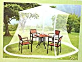 Mosquito Netting For 9 ft Market Umbrella – For Sale