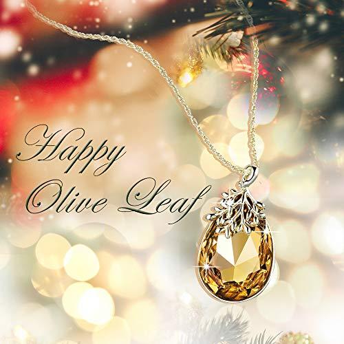 Chapado de Alantyer oro de en agua Gota Rama olivo Joyer Original k 18 Colgante Ex4w4aXB