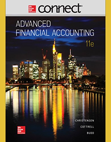 Download Connect Access Card For Advanced Financial Accounting Book
