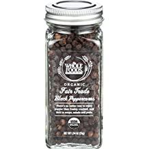Whole Foods Market, Organic Fair Trade Black Peppercorns, 1.94 Ounce