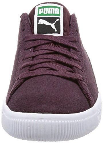 Puma Clyde B & C Violet Daim Unisexe Sneakers Chaussures neuf Violet 4ESsug