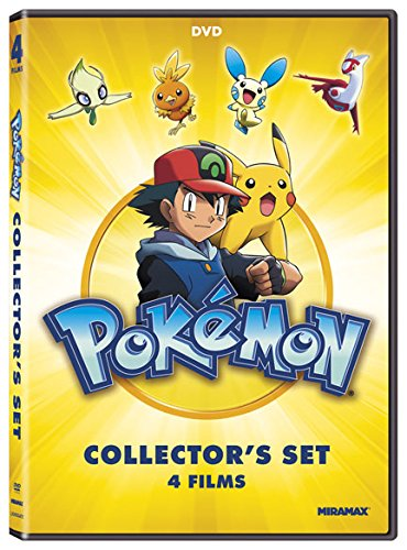 Pokémon Collectors 4-Film Set [DVD] (Pokemon 3 Movie)