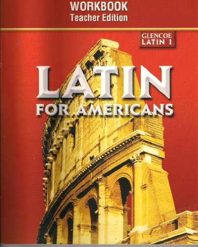Latin for Americans: Level 1 Writing Activities Workbook, Teacher Edition