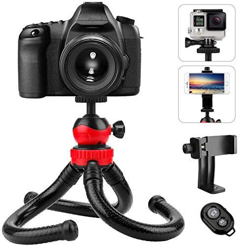 Flexible Phone Camera Tripod, PEYOU 12