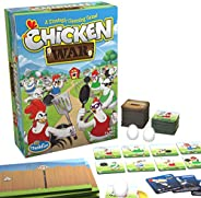 ThinkFun Chicken War Game and Brainteaser for Boys and Girls Age 8 and Up - A Smart Game with a Fun Theme and
