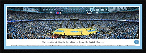 (North Carolina Basketball - Blakeway Panoramas College Sports Posters with Select Frame)