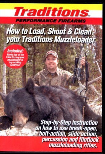 Traditions How to Load, Shoot & Clean Your Muzzleloader DVD
