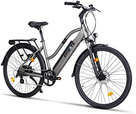 Fitifito CT28 / CT28M - Bicicleta eléctrica de ciudad, CT28 48 V ...