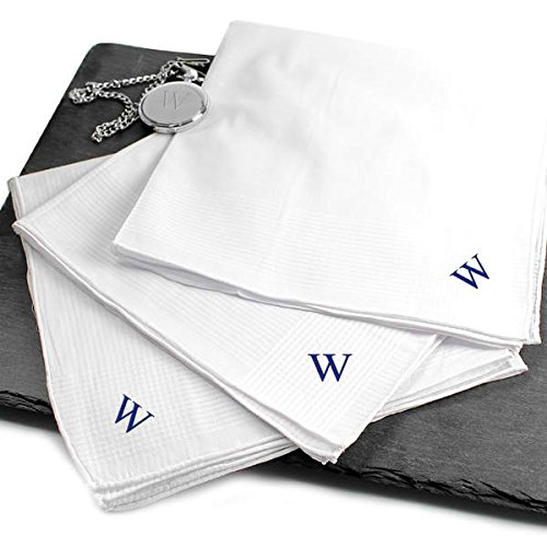 - Hand Rolled 3pc. Men's Personalized Hankies