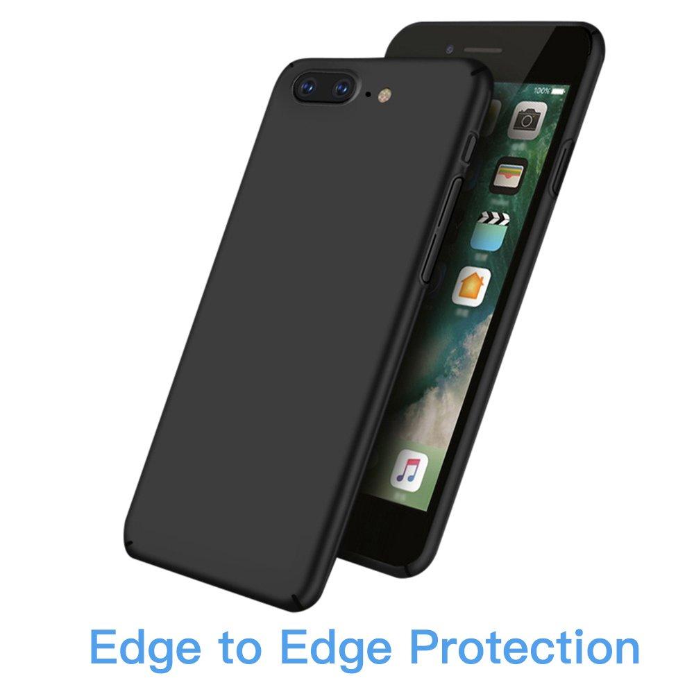 Oneplus 5 Hülle, TUCNIPUS Hard PC Case - Ultra Dünn Handyhülle, Anti-Fingerabdruck, Anti-Scratch Schutzhülle für Oneplus 5 Hülle (Schwarz)