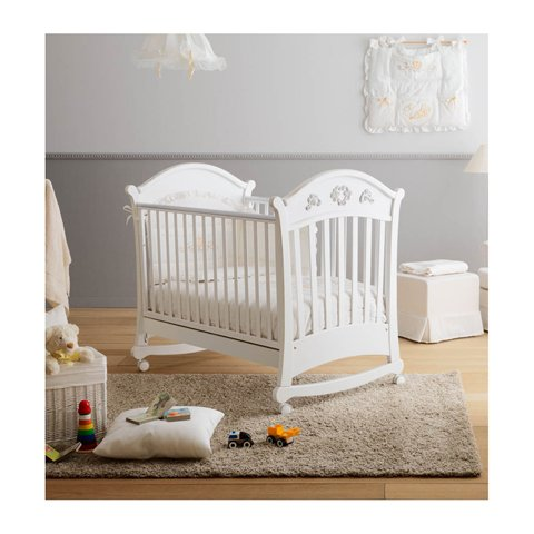 Kinderbett aus Holz von Geburt bis voll gewachsen Opplà Doimo Cityline B-Cicl